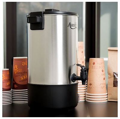 Commercial Coffee Urn Stainless Steel - Commercial Coffee Maker Brewer Office Urn 30 Cup (1.1 Gallon) Stainless Steel