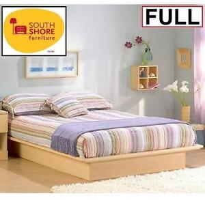 NEW SOUTH SHORE FULL PLATFORM BED Natural Maple 108171686