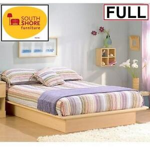 NEW SOUTH SHORE FULL PLATFORM BED Natural Maple 103423636
