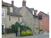 Chef required for Cotswold town centre pub.
