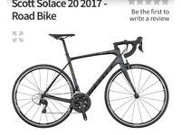 Scott Solas Carbon frame racing bike