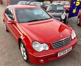 MERCEDES-BENZ C CLASS C180K Avantgarde SE 4dr - Gorgeous Car - Outstanding Value - Drives 100% 2004