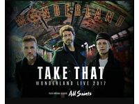 Two Take That Tickets