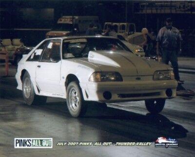 Fox body Mustang drag race car