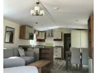 40 x 13 3 bed Holiday Lodge with decking Call JAMES on 07495 668377