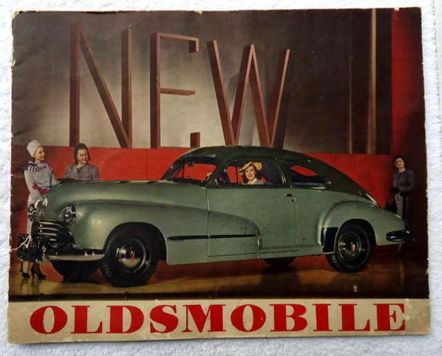 1946 OLDSMOBILE AUTOMOBILE ILLUSTRATED SALES BROCHURE #H7