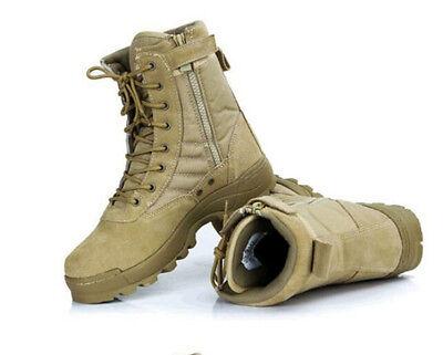 Herren Military Tactical Outdoor Stiefel Jagd Leichte Kampfstiefel Wanderschuhe