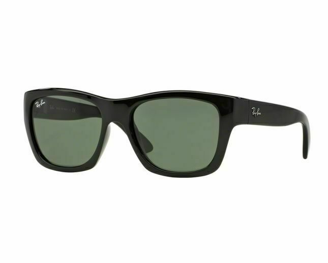 New Ray Ban RB4194 601 Nylon w/Black- Green Classic G-15 size 53mm