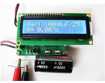 Battery Impedance Tester -  Internal Battery Resistance Impedance Tester Voltmeter+ In-ciruit Cap ESR
