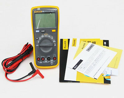 Fluke 15b 15b Digital Multimeter Meter Ac Dc Ohm Auto Range With Tl75 Test Lead