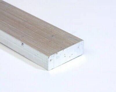 Aluminum Bar Flat Stock 12 Thick X 1 Wide X 3 Long Unpolished Finish Alloy