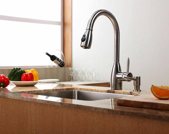 Exceptional KPF 2130 Single Lever Pull Out Kitchen Faucet From Kraus