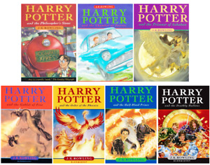 Harry Potter soft and hard cover books