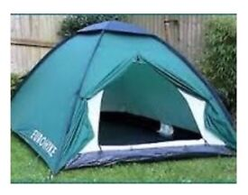 2/3 man tent Eurohike 220 in Blue - Same as photo but blue