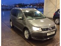 VOLKSWAGEN TOURAN 2015 AUTO DIESEL 7 SEATER NOT SHARAN SEAT ALHAMBRA OR FORD GALAXY