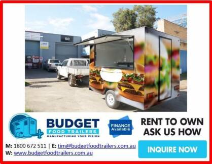 BURGER FOOD TRAILERS FROM $28,900 GREAT VALUE TOWNSVILLE