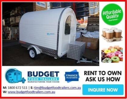 MOBILE COFFEE BUSINESS FROM $12,500 MANUFACTURED NEW TOWNSVILLE