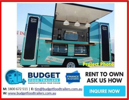 MOBILE CAFÉ FOOD TRAILER BUSINESS FROM $25,500 BUILTNEWTOWNSVILLE