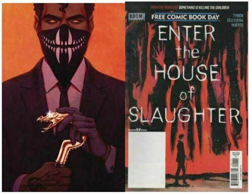 HOUSE OF SLAUGHTER #1 SOMETHING KILLING CHILDREN 1:100 NM FRISON VARIANT +