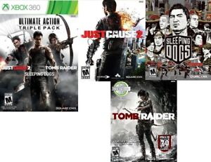 Ultimate Action Triple Pack for XBOX 360 (3 games)