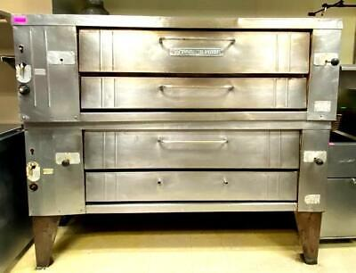 Bakers Pride Y600 Double Stack Oven