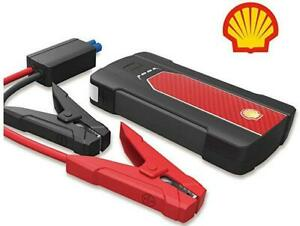 New SHELL SMART JUMP STARTER - EMERGENCY POWER PACK -- USB POWER BANK -- IDEAL FOR TRAVEL AND STORM SURVIVAL!