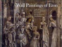 Wall Paintings of Eton (Hardcover) by Emily Howe, Henrietta McBurney, David Park, Stephen Rickerby