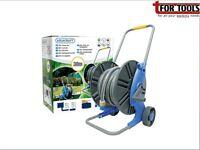 Aquacraft 30m Garden Water Hose Reel on Trolley Set