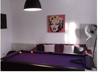 American slate bed pool table £300 ono