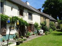 Beautiful Brittany Bargain. 18th century house with gite and with big garden