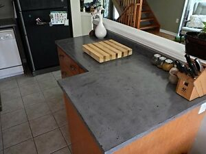Custom Concrete Countertops