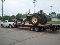 Flatbed hauling - cars, trucks, tractors, equipment