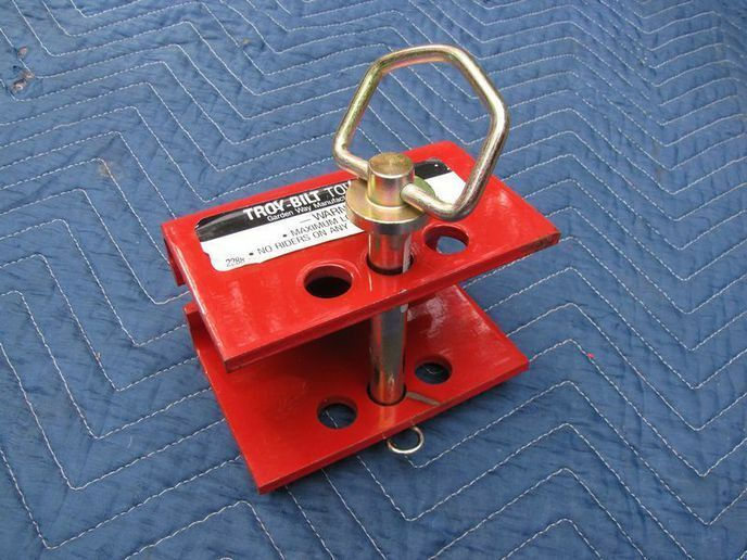 Electric Trailer Dolly >> Vintage Troy Tiller For Parts & Attachments | Other | Cape ...