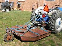 I want to buy a 5 ft. bush hog type mower.