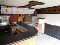 MAJOR INVESTMENT OPPORTUNITY - TAKEAWAY + FLAT - BOLSOVER TOWN CENTRE