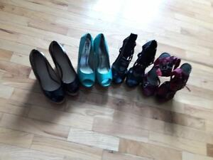 Pairs of shoes