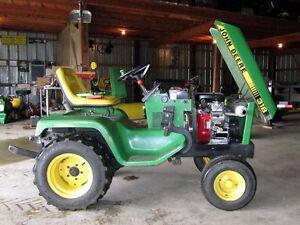 Looking for a 318/332 John Deere garden tractor