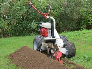 HOC GARBIN TZS HONDA SEMI AUTOMATIC TRENCHER + 6.5 HP GX200 + 18 INCH DEEP + TUNGSTEN CARBIDE BLADES + FREE SHIPPING Canada Preview