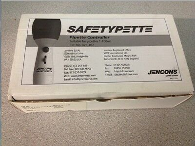 Jencons 475-102 Safetypette Pipette Controller 1-100ml