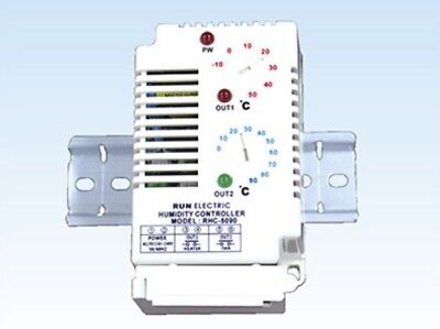 Run Electronic RHC-5090 2CH Electronic Temperature Control -10~50°C 0~90°C