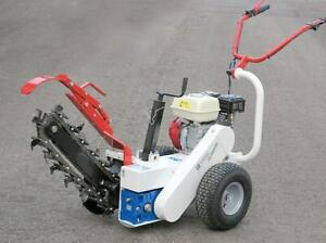 HOC M65RL HONDA TRENCHER + 6.5 HP + 18 INCH DEEP + TUNGSTEN CARBIDE BLADES + 2 YEAR WARRANTY + FREE SHIPPING
