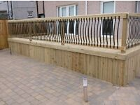 Decking design The landscape gardeners and Monoblock driveway installers