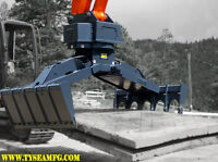 Skid Steer, Excavator, Wheel Loader Mat Grapples, Sales & Rental