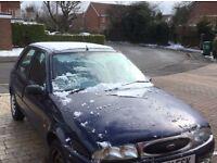 Ford Fiesta scrap/spares