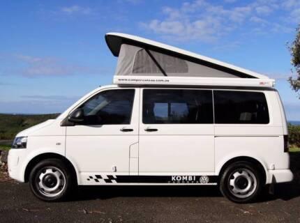 2010 VW T5 Kombi Camper Automatic Turbo Diesel Low Km Rear Shower Albion Park Rail Shellharbour Area Preview