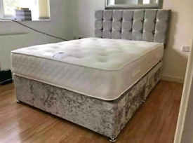 BEDS - BRAND NEW LUXURY DIVAN & SLEIGH BEDS 🛌 FREE DELIVERY