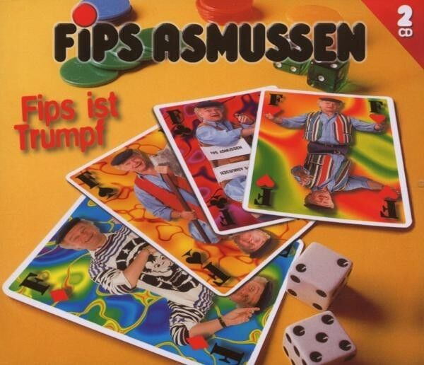 "FIPS ASMUSSEN ""FIPS IST TRUMPF"" 2 CD NEUWARE"