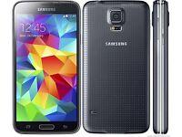 Samsung Galaxy. S5 16gb unlocked. Black. £145 fix price