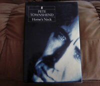 PETE TOWNSEND (The Who) Horse's Neck Hrd Cvr Book *Out-of-Print*