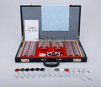 Optic 266pcs Metal Rim Lens Set Trial Frame Optometry
